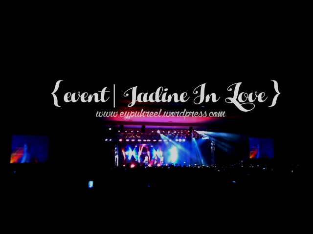 Jadine In Love Concert Tour