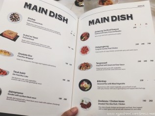 Main Dish Prices
